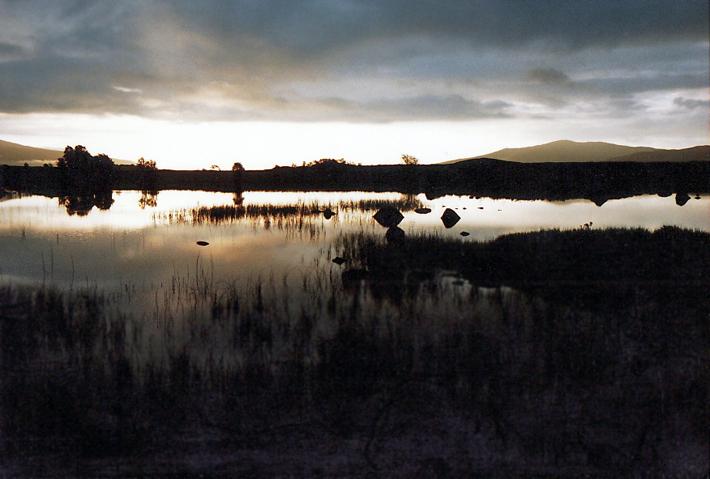 Sunrise - Rannoch Moor